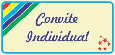 Convite Individual - Festa Infantil