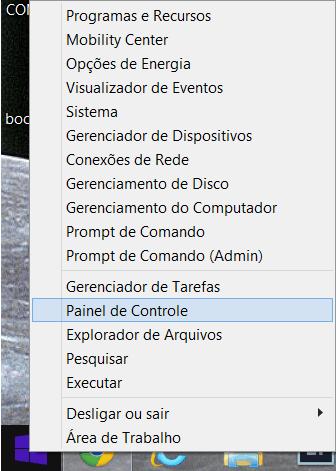 Windows 8.1 - Acessar Painel de Controle