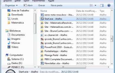 PenDrive - Atalhos no Windows Explorer